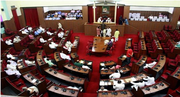 Khabar Odisha:State-Odisha-Odisha-Assembly-adjourned-till-3-PM-following-ruckus-over-Congress-on-Farmers-topic