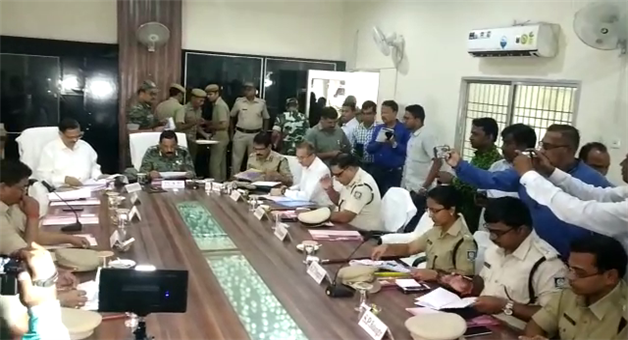 Khabar Odisha:State-Odisha-Politics-Bijepur-bypoll-Meeting-for-security-by-DGP-BK-Sharma