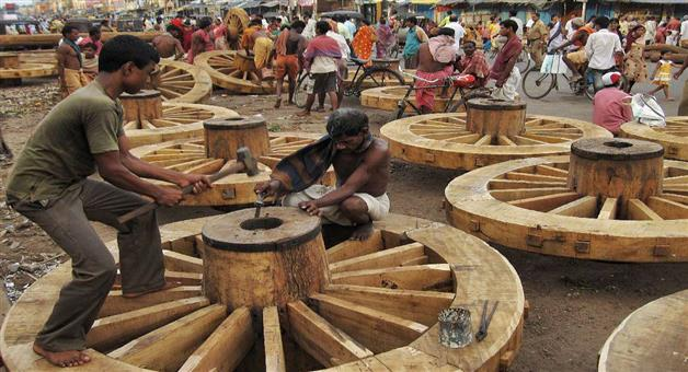 Khabar Odisha:State-Odisha-Puri-Car-festival-wood-Work-going-on