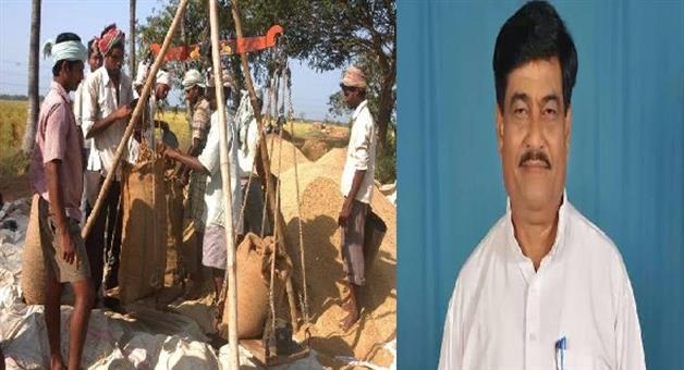 Khabar Odisha:State-Odisha-Ranendra-Pratap-Swain-supports-Token-System-of-Paddy-sale
