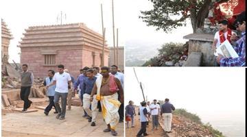 Khabar Odisha:State-Odisha-Vk-Pandian-Ganjam-taratarini-visit