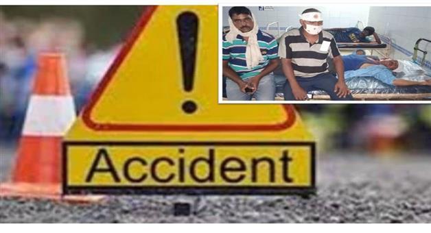 Khabar Odisha:State-Once-again-accident-in-Kalinga-ghati-5-injured-persons-admitted-to-Bhanjanagar-hospital