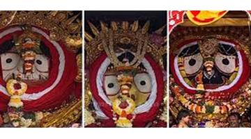 Khabar Odisha:State-Puri-Golden-avatar-of-lord-Shree-Jagannath-Balabhadra-and-Subhadra-at-Puri