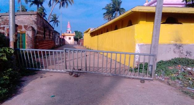 Khabar Odisha:State-PuriSection-144-imposed-in-Alarnath-of-Berhamagiri-no-devotees-entry
