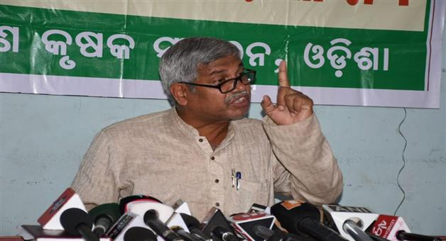 Khabar Odisha:State-odisha-today-odisha-bandha-sucessful--says-farmer-leader-Akshya