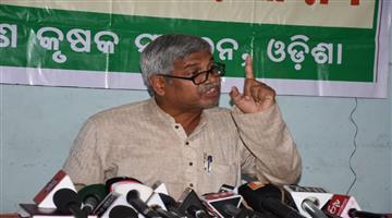 Khabar Odisha:State-odisha-today-odisha-bandha-sucessful--says-farmer-leader-Akshya