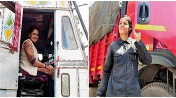 Khabar Odisha:Story-of-women-track-driver