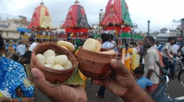 Khabar Odisha:Strong-evidence-of-rasgola-origin-in-Odisha-can-be-seen-during-Niladribije-today