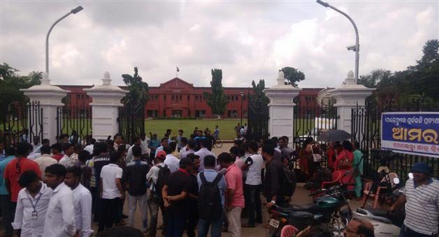 Khabar Odisha:Student-union-elections-in-Ravenshaw-University-Sambalpur-University-cancelled-owing-to-student-unrest