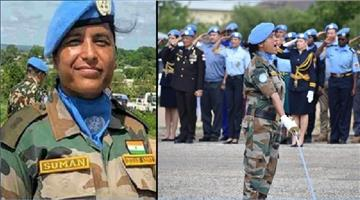 Khabar Odisha:Suman-Gawani-a-female-army-officer-was-honored-by-the-United-Nations