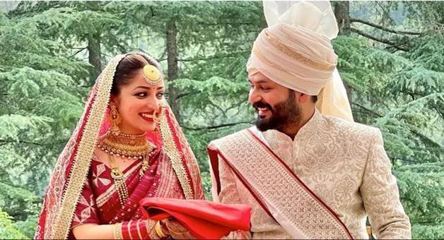Khabar Odisha:Surprise-Yami-Gautam-Marries-Uri-Director-Aditya-Dhar-In-Intimate-Ceremony