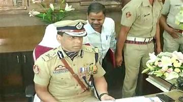 Khabar Odisha:Susdhansu-Sarangi-takes-charge-as-police-commissioner-of-cuttack-bhubaneswar