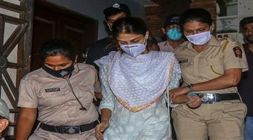 Khabar Odisha:Sushant-Singh-Rajput-SSR-Case-News-Rhea-Chakraborty-Judicial-Custody-End-Today-In-Drug-Connection-Case