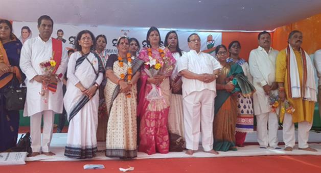 Khabar Odisha:Swabhiman-Sankalp-Samabesa-of-mahila-congress