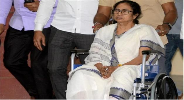 Khabar Odisha:TMCs-strategy-to-manipulate-sympathy-vote-Mamata-Banerjee-to-campaign-in-wheelchair