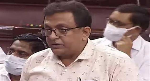 Khabar Odisha:TMC-MP-Shantanu-Sena-was-suspended-from-the-monsoon-session