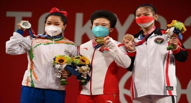 Khabar Odisha:TOKYO-OLYMPIC-Weightlifter-Jihui-Ho-will-have-anti-doping-test-chance-to-win-gold-medal-for-Mirabai-Chanu