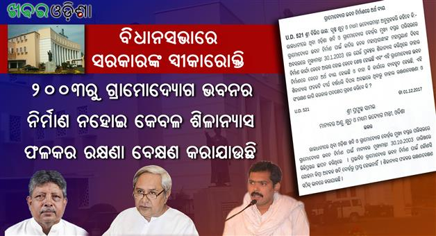 Khabar Odisha:Tejeswar-Parida-Looted-Honey-Farmers-Subsidy-Corruption-Honey-Scam-Khadi-Gramodyog-Bhawan