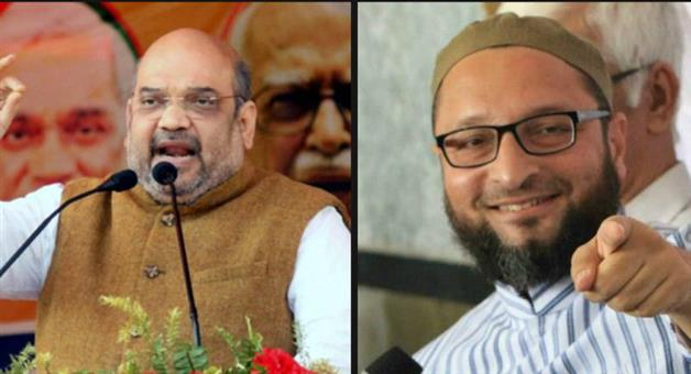 Khabar Odisha:Telangana-Elections-2018-Amit-Shah-Wants-A-Muslim-Free-India-Not-Congress-Free-Asaduddin-Owaisi