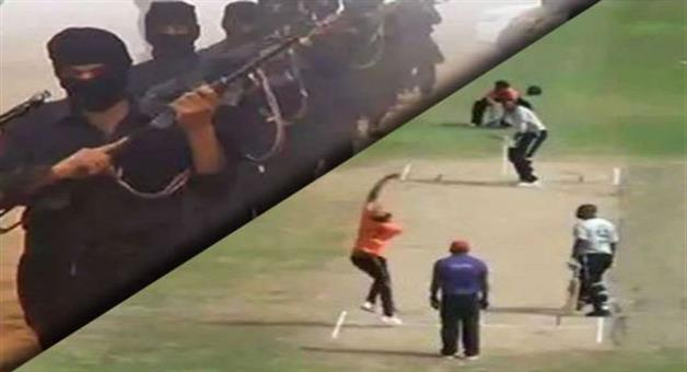 Khabar Odisha:Terrorists-interrupted-cricket-matches-in-Pakistan-and-opened-fire-on-the-ground