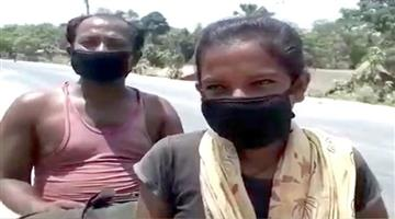 Khabar Odisha:The-13-year-old-daughter-crossed-the-1100-kilometer-road-by-riding-her-sick-father-on-a-bicycle