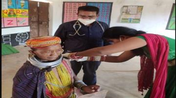 Khabar Odisha:The-Banda-tribals-are-identified-as-Corona-12-infected-and-4-healthy