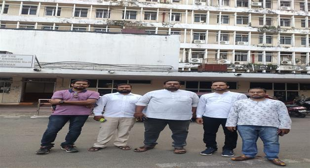 Khabar Odisha:The-Odisha-Government-High-School-Contract-Teachers-Association-will-go-on-a-hunger-strike