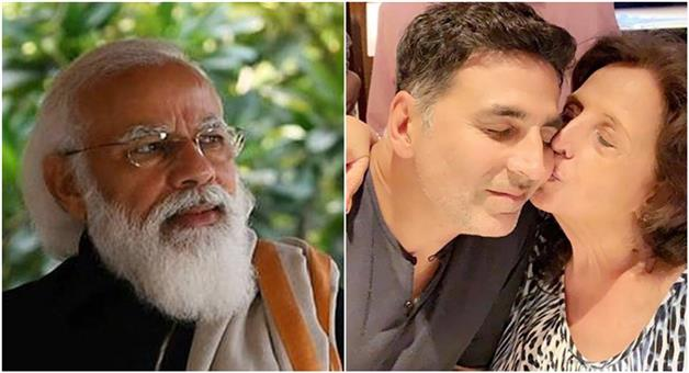Khabar Odisha:The-Prime-Minister-has-written-a-letter-to-Akshay-Kumar-mourning-the-death-of-his-mother