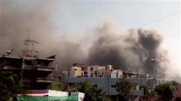 Khabar Odisha:The-cause-of-the-fire-is-unknown-at-the-Seram-Institute-in-Pune