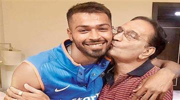 Khabar Odisha:The-father-of-the-all-rounder-of-the-Indian-cricket-team-Hardik-Pandya-has-passed-away