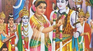 Khabar Odisha:The-goddess-Mahadev-and-Parvati-are-married-today-is-a-couple-idol-show-for-devotees