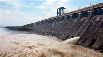 Khabar Odisha:The-water-level-of-the-Hirakud-Reservoir-is-rising-and-another-gate-has-opened