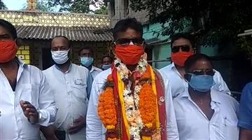 Khabar Odisha:Tirthol-BJP-candidate-Rajkishore-Behera-filed-his-nomination-papers-for-the-by-elections