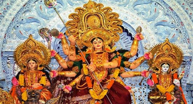 Khabar Odisha:Today-sasthi-puja-of-godess-durga-starts-at-all-mandap
