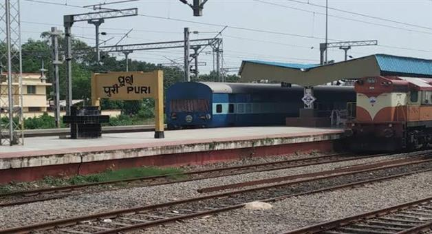Khabar Odisha:Train-cancelled-for-Puri