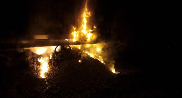 Khabar Odisha:Two-wagons-of-train-catch-fire-in-Palghar-district-12-trains-cancelled