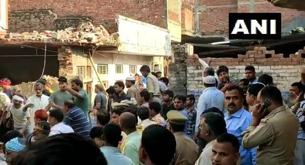 Khabar Odisha:UP-7-dead-and-15-injured-after-cylinder-blast-at-a-home-in-Mohammadabad