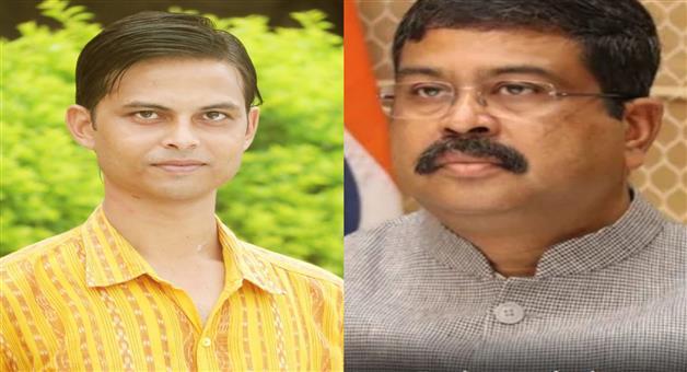 Khabar Odisha:Union-Minister-Dharmendra-Pradhan-mourns-the-death-of-journalist-Arindam-Das