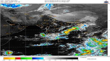 Khabar Odisha:West-Bengal-faces-heavy-rainfall-over-the-northwestern-Bay-of-Bengal
