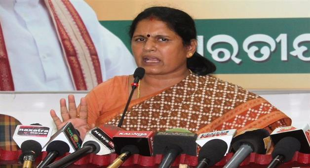 Khabar Odisha:Women-Should-Have-Safety-Instead-Mobile-Phone-Said-Pravati-Parida