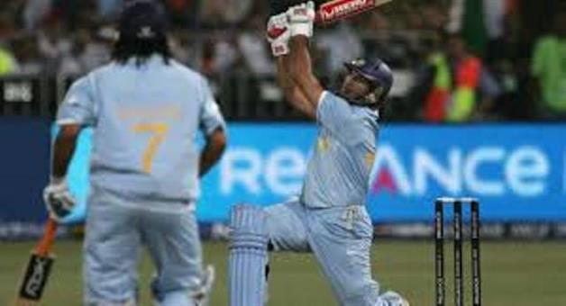 Khabar Odisha:Yovraj-Singh-hits-6-sixes-in-one-over-11-years-ago