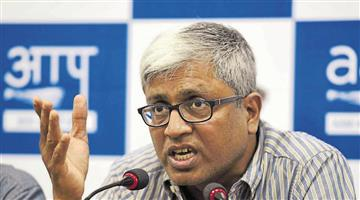 Khabar Odisha:aam-aadmi-party-leader-ashutosh-resigns-from-party
