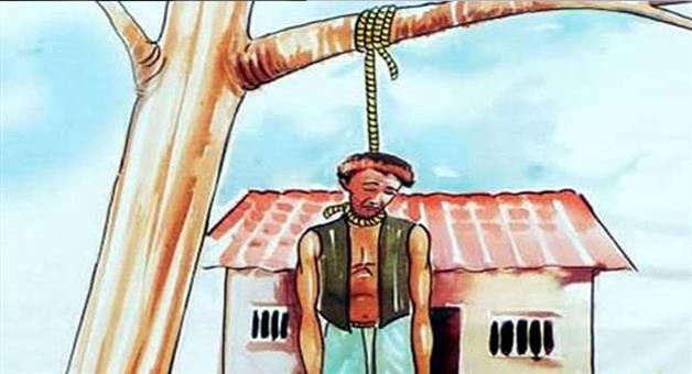 Khabar Odisha:again-farmer-suicide-at-binika-subernpur