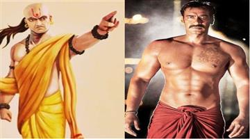 Khabar Odisha:ajay-devgn-in-and-as-chanakya-film-directed-by-neeraj-pandey