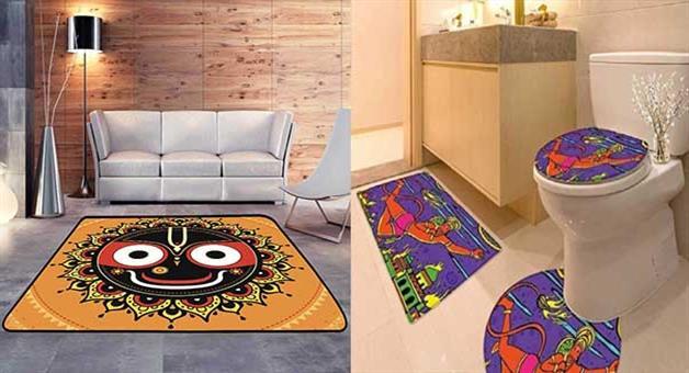 Khabar Odisha:amazon-provides-carpet-of-lord-jagannath-and-other-hindu-god