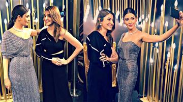 Khabar Odisha:anushka-sharma-take-a-selfie-with-her-talking-wax-statue-in-madame-tussauds-singapore