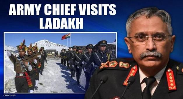 Khabar Odisha:army-chief-manoj-mukund-naravane-kashmir-and-ladakh-visit-signal-to-china-and-pakistan