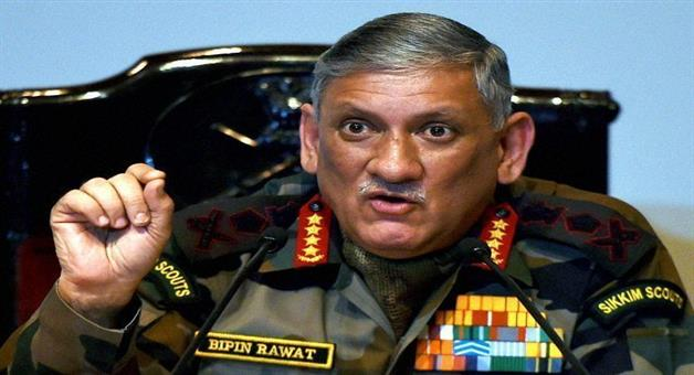 Khabar Odisha:army-chief-rawat-threatens-to-get-away