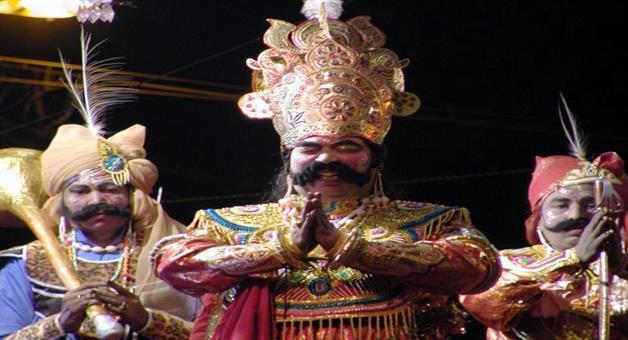 Khabar Odisha:art-and-culture-odisha-bargarh-dhanujatra-fourth-day