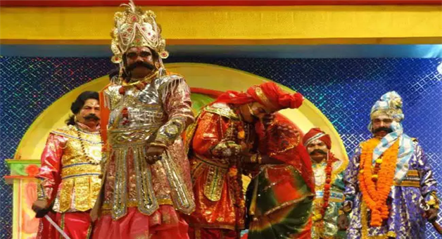 Khabar Odisha:art-and-culture-odisha-bargarh-dhanujatra-second-day